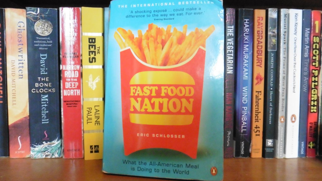 fast food nation themes Fast food nation by eric schlosser (theme and summary) there use to be a company called ibp, and it was americas biggest beef packing plant it was a slaughterhouse and it had some dangerous.